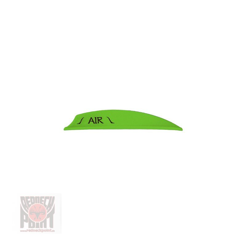 "Bohning Air Vanes 2"" neon grün"