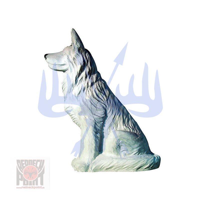 Wolf sitzend