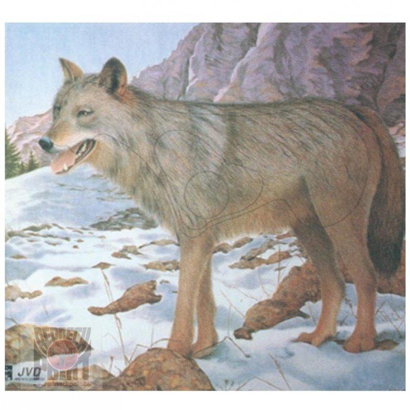 Tierscheibenauflage JVD Wolf