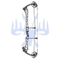 2021 Mathews Compoundbogen TRX 38 G2 RH 60lbs 29 black
