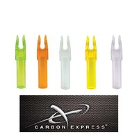 Carbon Express CX Precision Nock clear 12-er Pack