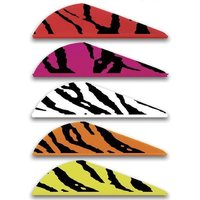 Bohning Blazer Tiger Vanes 2zoll orange