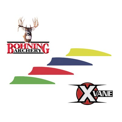 Bohning X-Vane 1.5zoll Shield neon orange