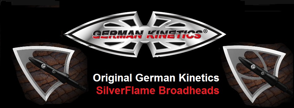 German Kinetics Silverflame Broadheads